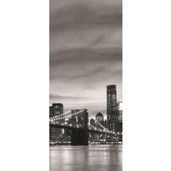 Brooklyn Bridge vlies poszter, fotótapéta 011VET /91x211 cm/