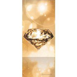 Gyémánt vlies poszter, fotótapéta 012VET /91x211 cm/