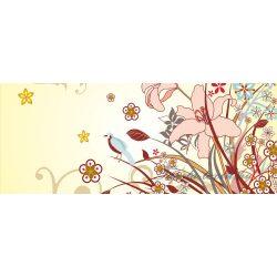 Virág minta vlies poszter, fotótapéta 038VEP /250x104 cm/