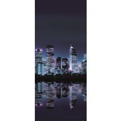 Éjszakai város öntapadós poszter, fotótapéta 051SKT /91x211 cm/