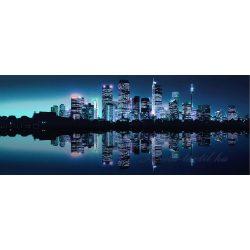 Éjszakai város vlies poszter, fotótapéta 051VEP /250x104 cm/