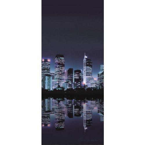 Éjszakai város vlies poszter, fotótapéta 051VET /91x211 cm/