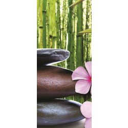 Buddha Zen vlies poszter, fotótapéta 1052VET /91x211 cm/