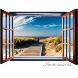 Ablakból a kilátás vlies poszter, fotótapéta 1054VEZ4 /201x145 cm/