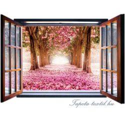 Ablakból a kilátás vlies poszter, fotótapéta 1057VEZ4 /201x145 cm/