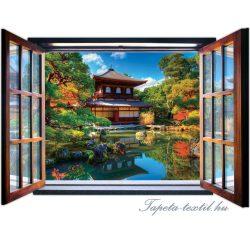 Ablakból a kilátás vlies poszter, fotótapéta 1058VEZ4 /201x145 cm/