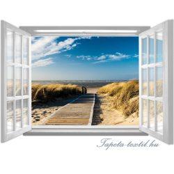 Ablakból a kilátás vlies poszter, fotótapéta 1059VEZ4 /201x145 cm/