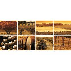 Wineyard minta vlies poszter, fotótapéta 106VEP /250x104 cm/