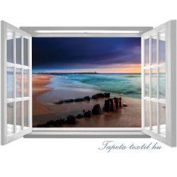 Ablakból a kilátás vlies poszter, fotótapéta 1060VEZ4 /201x145 cm/