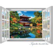 Ablakból a kilátás vlies poszter, fotótapéta 1063VEZ4 /201x145 cm/