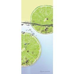 Lime vlies poszter, fotótapéta 109VET /91x211 cm/
