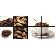 Kávé minta vlies poszter, fotótapéta 112VEP /250x104 cm/