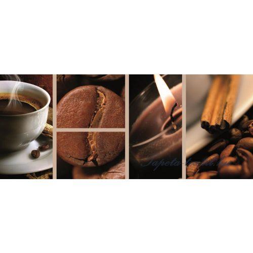 Kávé minta vlies poszter, fotótapéta 113VEP /250x104 cm/