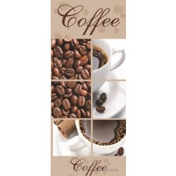Kávé vlies poszter, fotótapéta 114VET /91x211 cm/