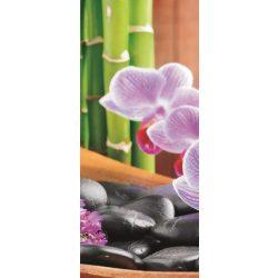 Orchidea öntapadós poszter, fotótapéta 115SKT /91x211 cm/