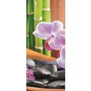 Orchidea vlies poszter, fotótapéta 115VET /91x211 cm/