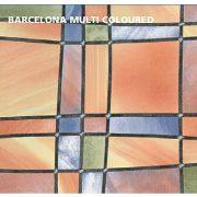 Gekkofix Barcelona Multi Coloured  öntapadós üveg tapéta 45 cm x 2 m