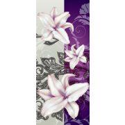 Virág minta öntapadós poszter, fotótapéta 1203SKT /91x211 cm/