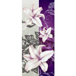 Virág minta vlies poszter, fotótapéta 1203VET /91x211 cm/