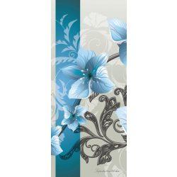 Virág minta vlies poszter, fotótapéta 1205VET /91x211 cm/