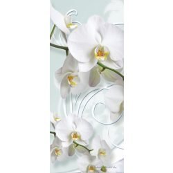 Virág minta öntapadós poszter, fotótapéta 1206SKT /91x211 cm/