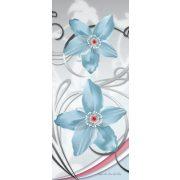 Virág minta vlies poszter, fotótapéta 1209VET /91x211 cm/