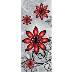 Virág minta öntapadós poszter, fotótapéta 1211SKT /91x211 cm/