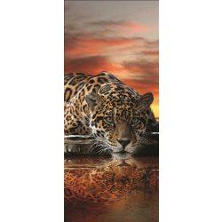 Jaguár vlies poszter, fotótapéta 126VET /91x211 cm/