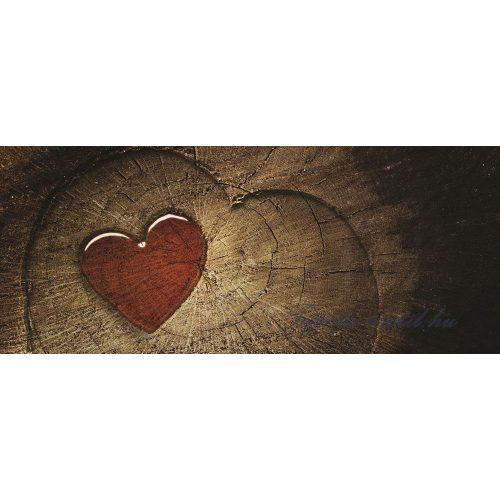 Szív minta vlies poszter, fotótapéta 135VEP /250x104 cm/