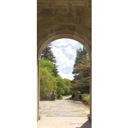 Kilátás a teraszról öntapadós poszter, fotótapéta 138SKT /91x211 cm/