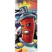 Graffiti öntapadós poszter, fotótapéta 1395SKT /91x211 cm/