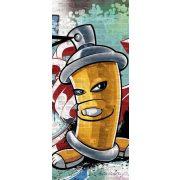 Graffiti öntapadós poszter, fotótapéta 1397SKT /91x211 cm/