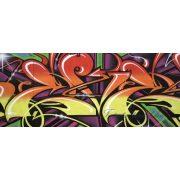 Graffiti minta vlies poszter, fotótapéta 140VEP /250x104 cm/
