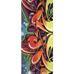 Graffiti vlies poszter, fotótapéta 140VET /91x211 cm/