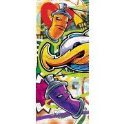 Graffiti vlies poszter, fotótapéta 1400VET /91x211 cm/
