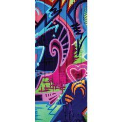 Graffiti öntapadós poszter, fotótapéta 1508SKT /91x211 cm/