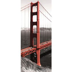 Golden Gate Bridge vlies poszter, fotótapéta 154VET /91x211 cm/
