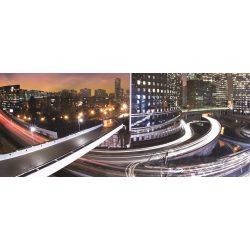Night light city vlies poszter, fotótapéta 161VEP /250x104 cm/