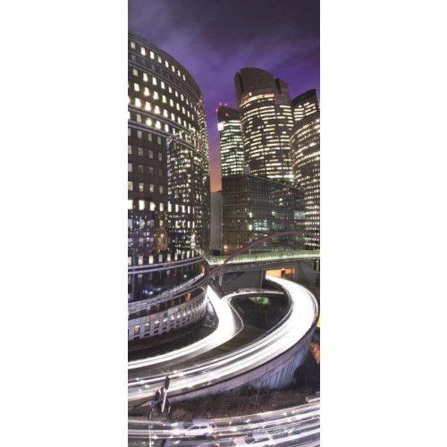Night Light City vlies poszter, fotótapéta 161VET /91x211 cm/