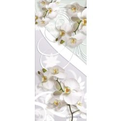 Virág minta öntapadós poszter, fotótapéta 1611SKT /91x211 cm/