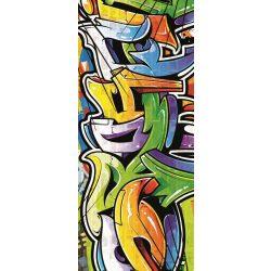 Graffiti öntapadós poszter, fotótapéta 1612SKT /91x211 cm/