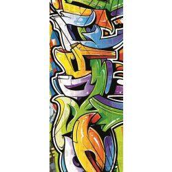 Graffiti vlies poszter, fotótapéta 1612VET /91x211 cm/