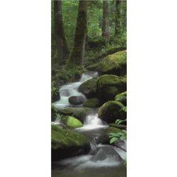 Erdei patak öntapadós poszter, fotótapéta 163SKT /91x211 cm/