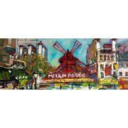 Moulin Rouge poszter, fotótapéta 168VEP /250x104 cm/