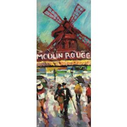 Moulin Rouge vlies poszter, fotótapéta 168VET /91x211 cm/