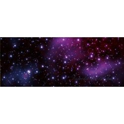 Csillagok poszter, fotótapéta 177VEP /250x104 cm/