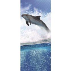 Delfin öntapadós poszter, fotótapéta 188SKT /91x211 cm/