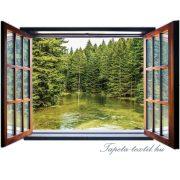 Kilátás az ablakból vlies poszter, fotótapéta 1933VEZ4 /201x145 cm/
