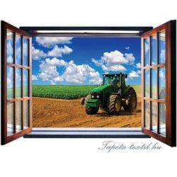 Kilátás az ablakból vlies poszter, fotótapéta 1936VEZ4 /201x145 cm/