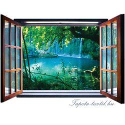 Kilátás az ablakból vlies poszter, fotótapéta 1937VEZ4 /201x145 cm/
